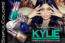 kylie jenner to release three nail polish collections