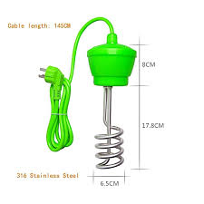 suspension immersion water heater stainles steel for inflatable pool tub bathtub