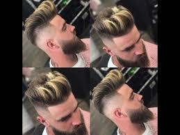 Best Hair Styles For Men 2018 أفضل قصات الشعر للرجال مع اللحية وبدونها 2017