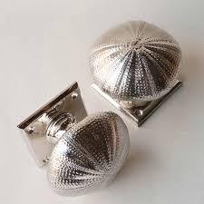 cabinet knobs silver. Interesting Silver Sea Urchin Cabinet Knob For Knobs Silver P
