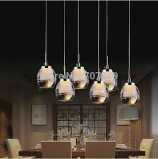 image of led dining room light fixtures