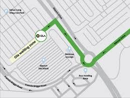 Melbourne airport domestic terminal (mel). Melbourne Airport Pickup Area Ola Driver Guide