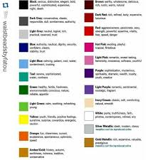 Bead Color Chart