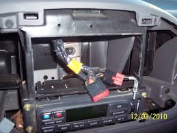 how to install double din unit in f forums disconnect the wire harnesses and radio antenna