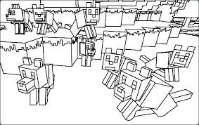 Minecraft Coloring Pages For Kids Coloring Pages To Print Coloring