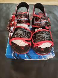 Toddler Boy Light Up Sandals Marvel Spider Man Toddler Boys Light Up Sandals Size 10 New In Box