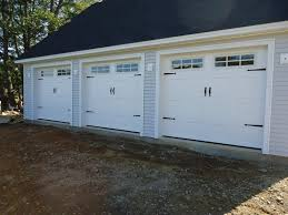 carriage house doors installed in woolwich m e