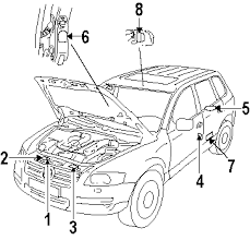 2004 volkswagen touareg parts volkswagen oem parts accessories 5 shown see all 70 part diagrams