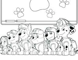 Paw Patrol Coloring Pages Rubble Pictures Everest Books Free To