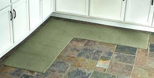 corner runner rug l shaped sage corner runner rug