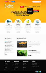 Website Templates Internet Website Template 24 3