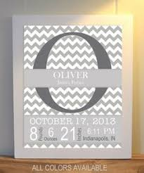 personalised baby boy canvas wall art
