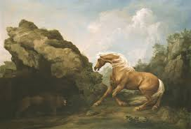 george stubbs horse frightened by a lion