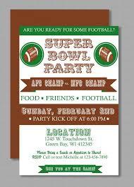 Diy Do It Yourself Vintage Super Bowl Invitation Editable