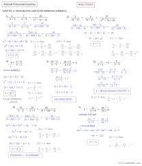 solving polynomial equations by factoring worksheet tessshlo