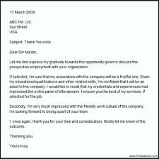 Professional Thank You Letter 100 Thankyou Letter In Word Templates