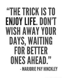 Enjoy Life Quotes Interesting Motivational Quotes Enjoy LIFE Now Quotes Of The Day Your