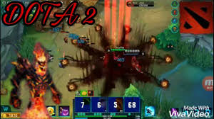 dota 2 mobile shadow fiend gameplay finnaly youtube