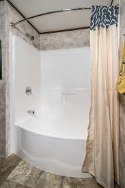 curved front garden tub shower colony homes regarding inspirations 0