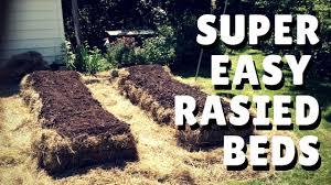hay bale garden instant raised beds