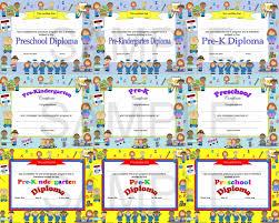 Best Ideas Of Printable Preschool Graduation Certificate With