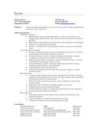 Secretary Resume Format It Resume Cover Letter Sample