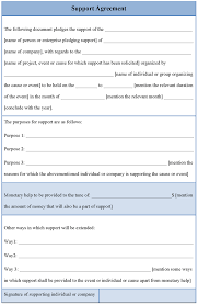 Service Level Agreement Template Download Free Best Resumes