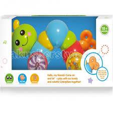 Игрушка-<b>каталка Гусеница</b> Y1567385 <b>Huile</b> Toys — купить в ...