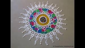 Small Picture Small and easy sanskar bharati rangoli Rangoli designs by Poonam