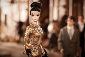Image result for gold brocade doll