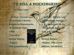 book review to kill a mockingbird to