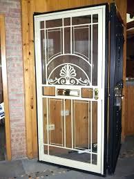 home security doors front door screen doors home security screen doors gatehouse security doors home depot