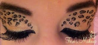 leopard makeup by fern lianne