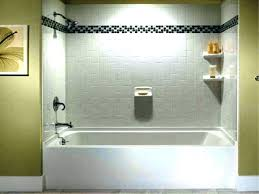 one piece tub surround 3 direct within remodel 10 architecture elegant one piece bathtub