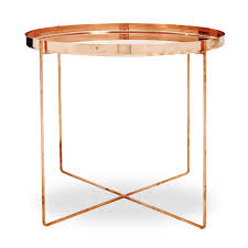 lights appliances round gold copper table round small modern copper side table unique modern copper
