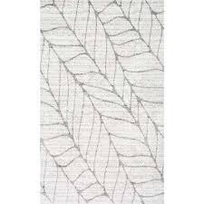 boyce light grey 2 ft x 3 ft area rug