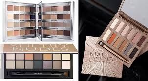 aw16 eye shadows palettes clarins urban decay bobbi brown and estee lauder