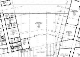 Leigh On Sea Community Centre  Floor PlanCafeteria Floor Plan