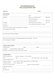 Critical Incident Report Form Template Simple After Action