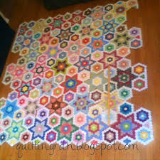 596 best QUILTS: Hexagons images on Pinterest | Hexagons, Atlanta ... & I had a nice lady named Amy contact me about a pattern for the hexagon  stars quilt I have been working on. Adamdwight.com