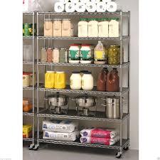 Kitchen Storage Racks Metal Commercial Storage Shelves Ebay