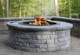 stoneledge fire pit in granite