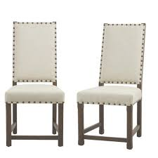 home decorators collection andrew antique grey dining chair set of 2