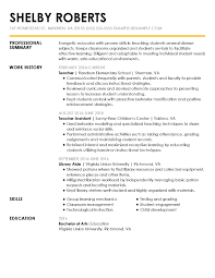 Basic Skills For A Resume View 30 Samples Of Resumes By Industry Experience Level