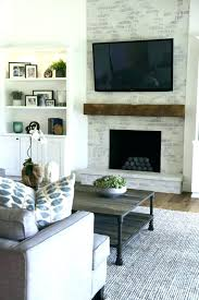 installing tv above fireplace mounting above fireplace a over full