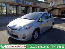 used 2010 toyota prius 5 in garden grove california oc cars and credit