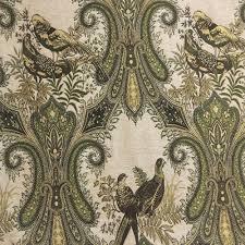 Paisley Sofa online shop classical vintage bird paisley jacquard woven soft 8089 by uwakikaiketsu.us