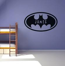 batman wall decals as well as personalised batman wall sticker boys bedroom decal batman wall decals canada azn
