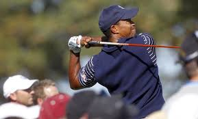 tiger woods who won the arnold palmer invitational march 25 2016 his third victory of the year is shown at the ryder cup sept 29 2016