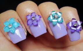 Captivating Claws: 3D Nail Art with Flowers and Bows from Born Pretty